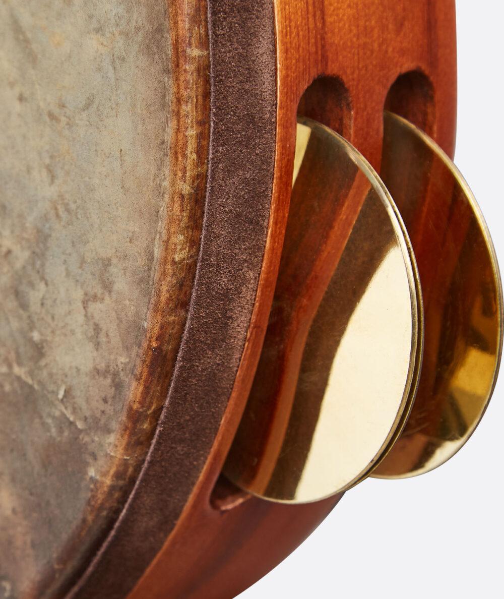 Emin Percussion | Tef Düz Prinç Zilli Balık Derili