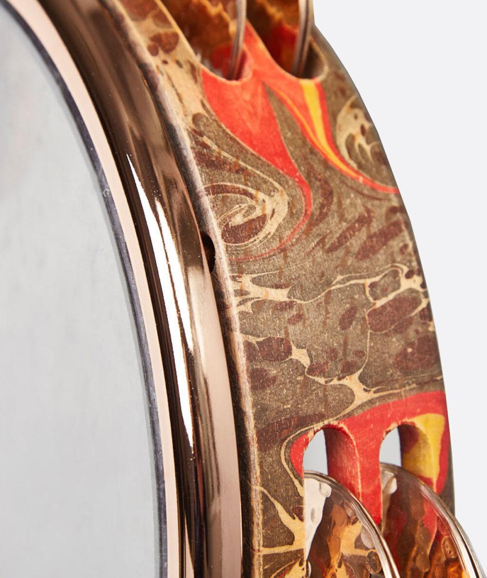 Emin Percussion | Tef - Ebru Tasarımlı Dövme Bronz Zilli